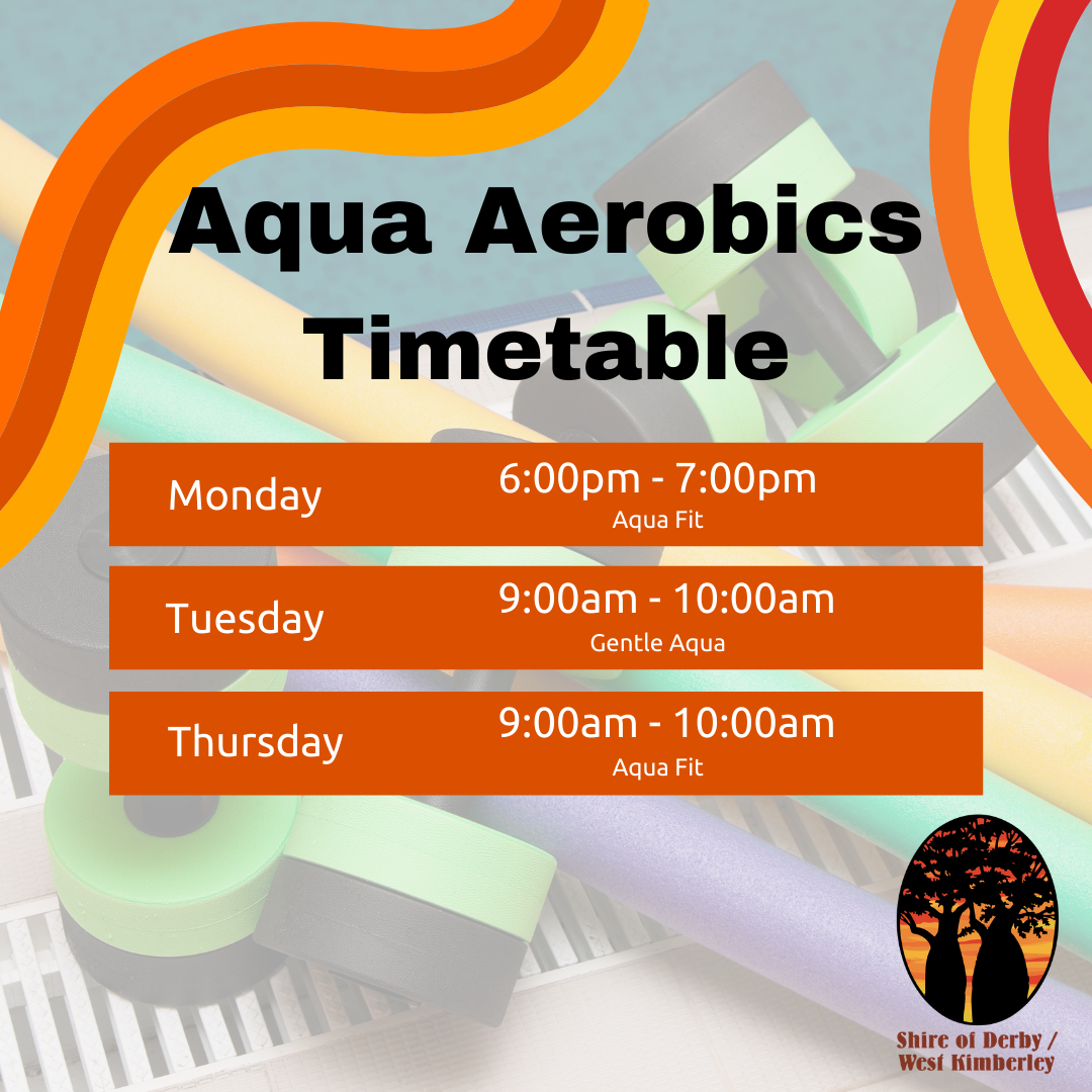 Aqua Classes Timetable