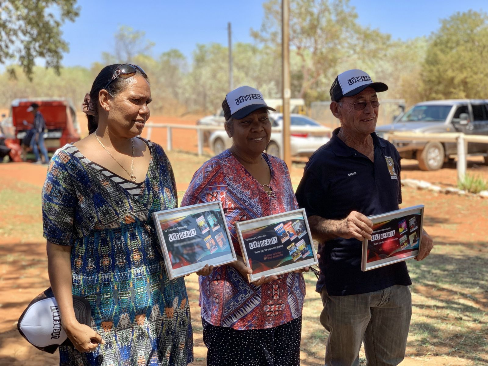 'Live Deadly' campaign launches in Pandanus Park